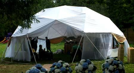 конструкция шатра