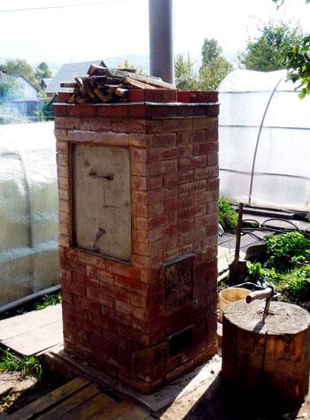 Установка дымохода на даче своими руками фото 279