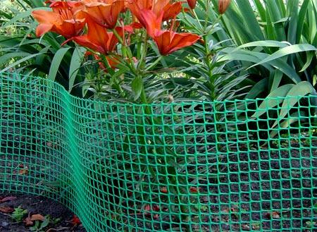 короткая пластиковая сетка