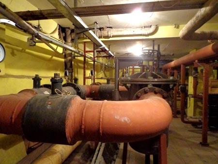 котельная в подвале
