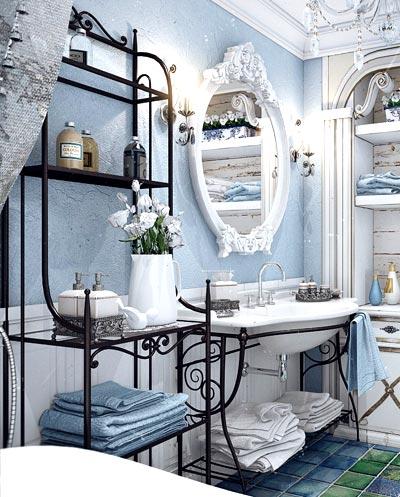 кованая мебель ванная