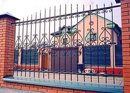 кванный забор для домаили дачи