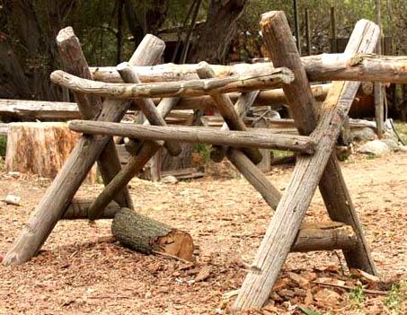 козлы для распилки дров