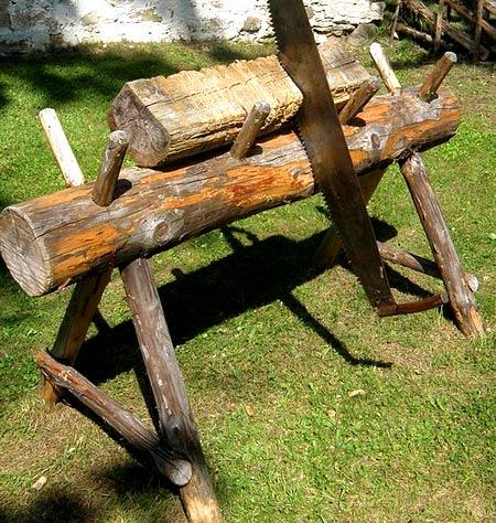 деревянные козлы