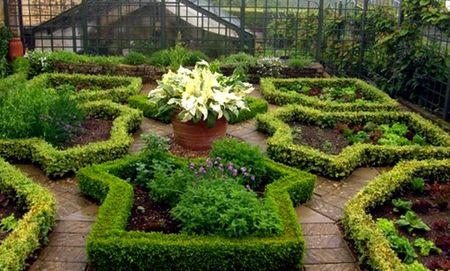 декорирование огорода