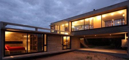 креативный угловой дом