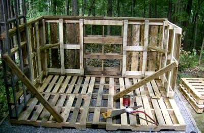 постройка сарая