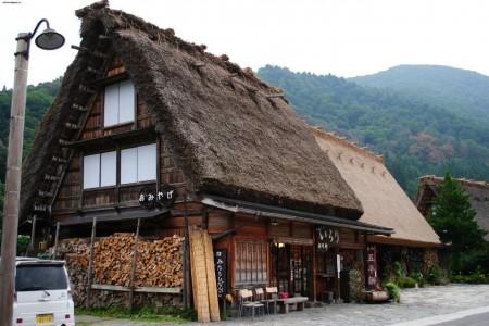 крыша японского дома