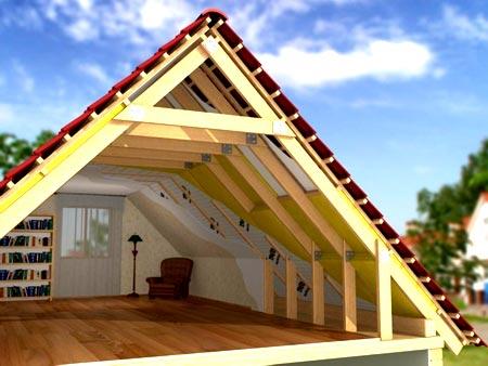крыша скандинавский дом