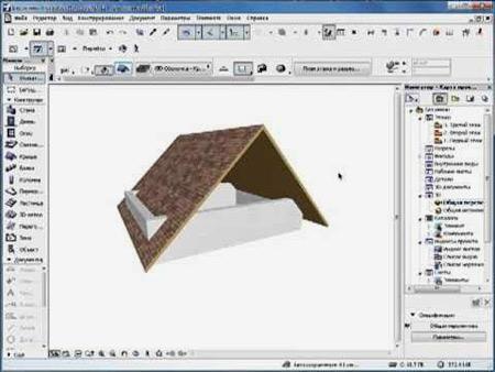 проектирование в archicad