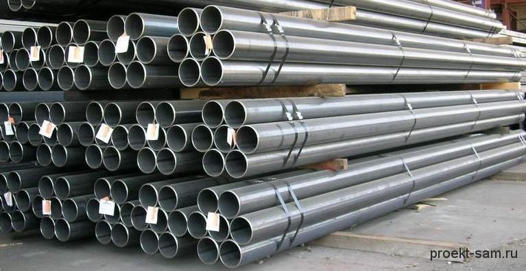 круглые металлические трубы