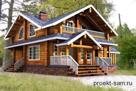 крыльцо к дому деревянному фото
