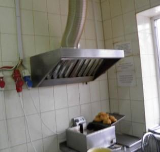 кухонный вытяжной зонт