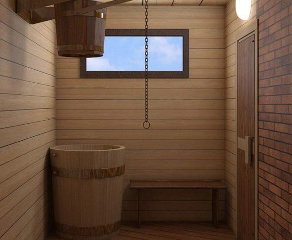 проектирование помещения помывочной