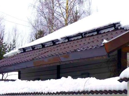 равномерная нагрузка снега