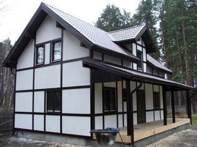 малоэтажный каркасный дом