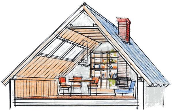 Как сделать двухскатную крышу с мансардой своими руками: про.