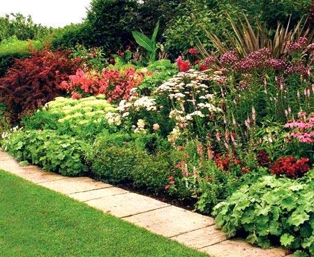 маскировка участков в саду