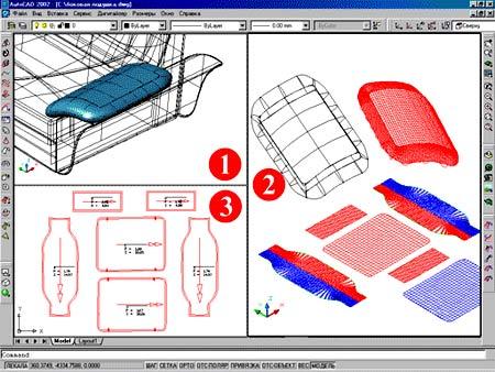 проектирования мягкой мебели