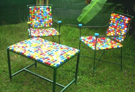 стул пластиковые пробки