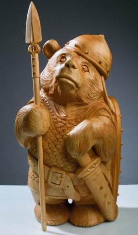 статуэтка медведя