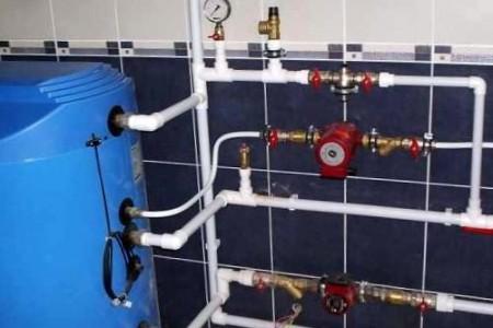 местная система горячего водоснабжения