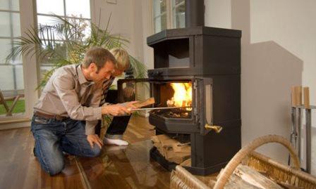 металлическая печь для дома
