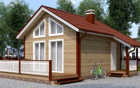 миниатюрный дом