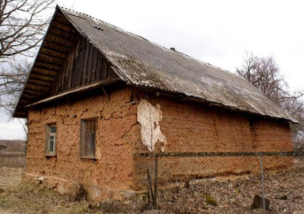 дом мазанка