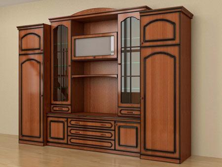 смоделированная модель шкафа