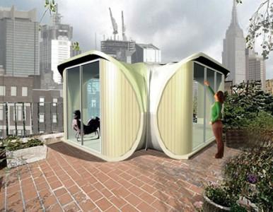 модульный дом из одной секции