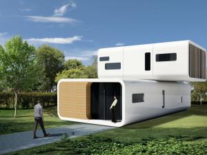 оригинальный модульный дом