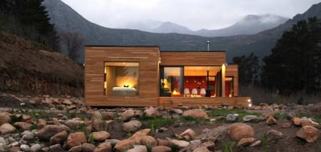 модульный сборный домик