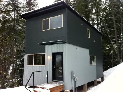 модульный сборный двухэтажный дом