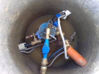 монтаж водяного насоса