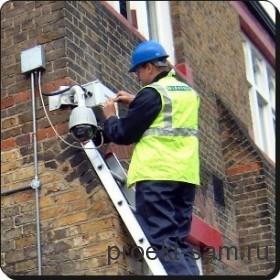 монтаж системы охраны и наблюдения