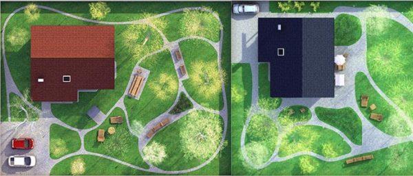 план придомовой зоны