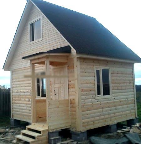 проект маленький дом