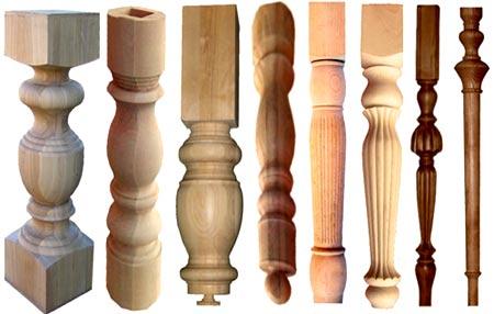 деревянные резные ножки