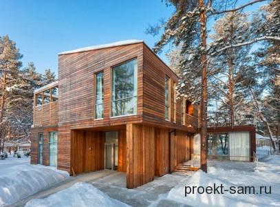 новый проект деревянного дома 2013 года