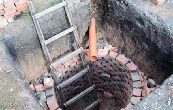 конструкция колодца