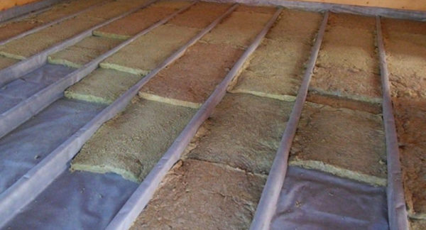 гидроизоляция минеральной ваты