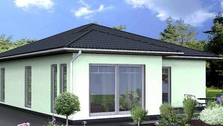проект одноэтажного дома из сибита