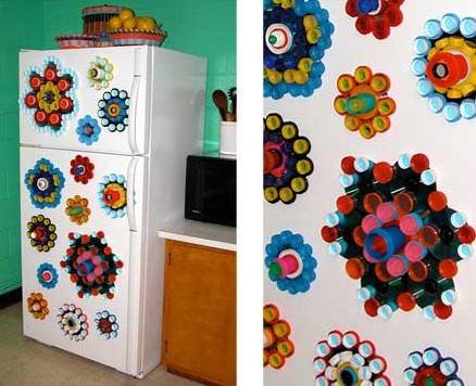 оформление холодильника