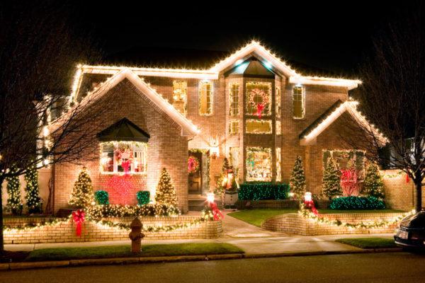 Идея оформления дома к Новому году