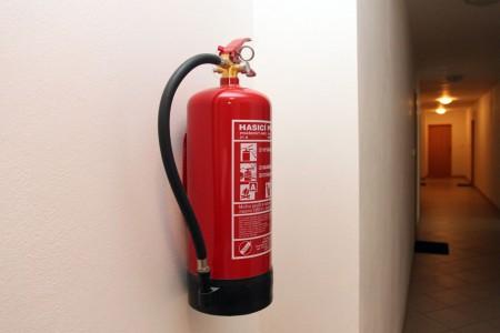 огнетушитель в доме