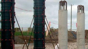 опалубка под заливку колон