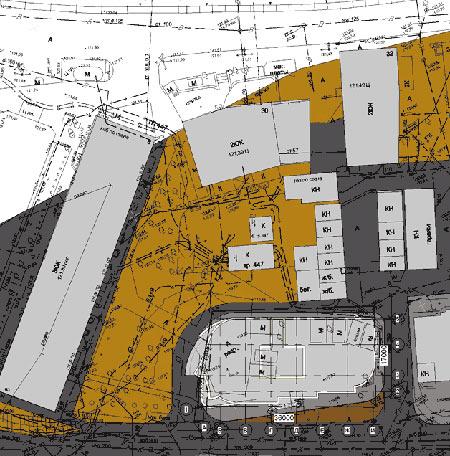 ориентация зданий