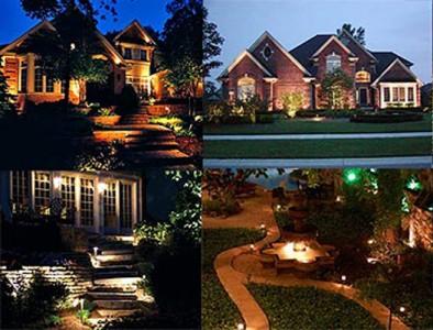 освещение частных домов