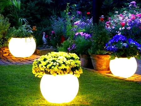 освещение палисадника